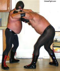 leatherman muslebears wrestling