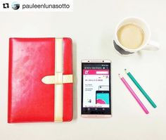 """Good morning! Writing my notes for the coming week. Also I just got my new O phone. And it's PINK!!!!!  Thanks @OplusUSA. Visit shop.oplususa.com now!""  - @pauleenlunasotto #OplusUSA #OplusVentiLTE #ExploreVenti - http://ift.tt/1HQJd81"