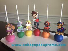 Paw Patrol Torta Paw Patrol, Paw Patrol Cupcakes, Paw Patrol Party, Paw Patrol Birthday, Second Birthday Ideas, 3rd Birthday Parties, Baby Birthday, Cake Pops, Puppy Party