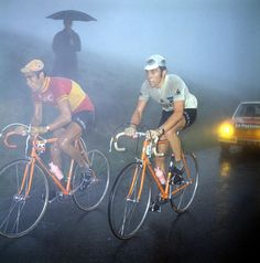 Luis Ocana and Eddy Merckx - Tour de France 1972