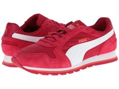 PUMA PUMA - ST RUNNER NYLON (CERISE/WHITE) RUNNING SHOES. #puma #shoes #