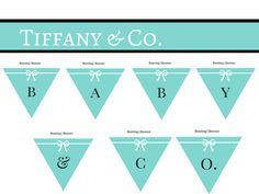 Tiffany Inspired Diapper Cakes For Baby Showers | FREE Tiffany U0026 Co.  Inspired Baby Shower