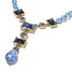 "Shop Heidi Daus ""Fabulous Rocks"" Beaded Crystal Y-Drop Necklace at HSN mobile"
