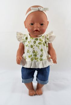 """Soft Terry Diaper fits15/"""" Dolls and Bitty Baby in Purple or Pink"""