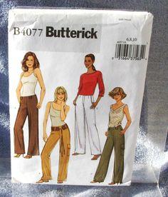 2003 Uncut  Butterick Pattern  B4077 by lovelylovepatterns on Etsy, $4.00