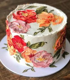 Pretty Birthday Cakes, Pretty Cakes, Cute Cakes, Beautiful Cakes, Yummy Cakes, Amazing Cakes, Latest Cake Design, New Cake Design, Cake Designs