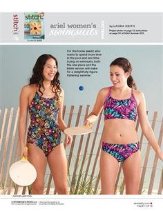 53 Best Free Swimsuit Patterns Tutorials Images Sewing Projects