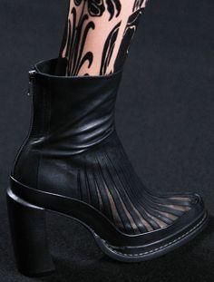 Ann Demeulemeester s/s 2014 #Boots