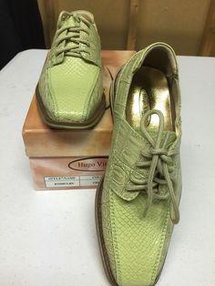61ad5f90d824 Hugo Vitelli New Boys  Children s Solid Celery Dress Shoes K7229CLRY See  Photos  HugoVitelli