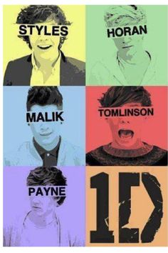 One Direction Harry Styles, Liam Payne, Louis Tomilson, Niall Horan, Zayn Malik ~EN