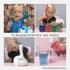 10-eksperymentow-dla-dzieci-1 4 Kids, Cool Kids, Children, Fun Crafts For Kids, Art For Kids, Stem Classes, Kids And Parenting, Montessori, Playground