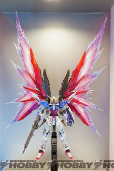 GUNDAM GUY: METAL BUILD Destiny Gundam Beam Wing - On Display @ TAMASHII NATION 2014 (Akihabara) [Updated 11/5/14]