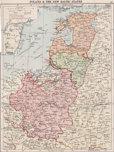Poland and the New Baltic States, 1919