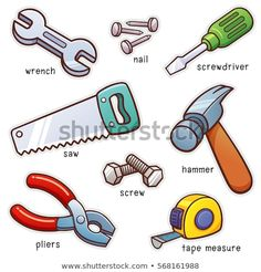 Illustration about Vector illustration of Vocabulary Tools set. Illustration of tools, illustration, tape - 85830894 Learn English Grammar, English Vocabulary Words, Learn English Words, Grammar And Vocabulary, English Language Learning, English Lessons, Teaching English, Kids English, English Study