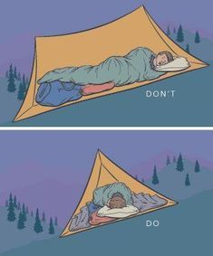 A Bit Nervous About Camping? These Tips Will Set You At Ease! – Useful Camping Tips and Guide Use these tips on how to pitch a tent to stay dry, comfortable and on the level.