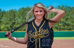 Softball Picture Idea---Love it!