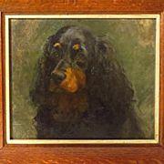 Painting Spaniel in Fine Art
