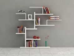 BONSAI BOOKCASE WALL SHELVING by DECORTIE – Modern Furniture Deals