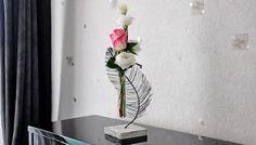 vase et soliflore
