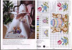 Gallery.ru / Фото #10 - 374 - elypetrova Cross Stitch Borders, Cross Stitch Charts, Cross Stitching, Cross Stitch Embroidery, Cross Stitch Patterns, Rico Design, Easter Cross, Easter Crochet, Pattern Books