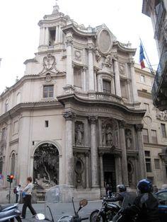 S. Carlo alle Quattro Fontane. Rome. 1638-39 #architecture