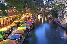San Antonio Riverwalk - San Antonio, Texas Can't wait until sept!!