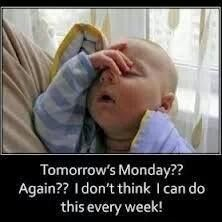 I dont really mind Mondays but this is just so cute.