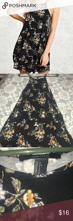 🖤Loose-fitting forever 21 dress🖤 Worn once!! Super comfy an gorgeous, make offers!! Forever 21 Dresses