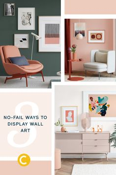 3 no fail ways to display wall art clare s blog paint colors for rh pinterest com