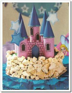 Castillo para el pastel de cumpleaños! | Manualidades de hogar