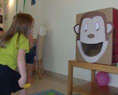 monkey birthday party games - Google Search
