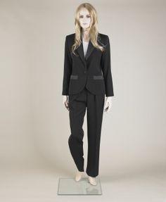 Evening trouser suit, Yves Saint Laurent, 1985
