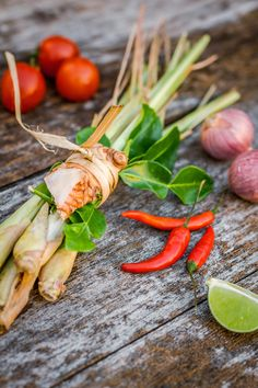 Thai cooking essentials by Igor Yemelianov Thai Recipes, Raw Food Recipes, Asian Recipes, Thai Cooking, Asian Cooking, Sambal Sauce Recipe, Thai Food Menu, Vegetables Photography, Food Menu Design