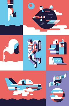 Solid and consistent work from Timo Meyer, a designer and illustrator based in…