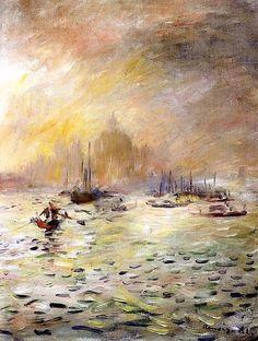 """""""Venezzia, nebbia"""" - Renoir"""