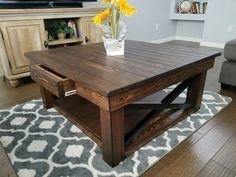 large reclaimed wooden coffee table made to order in 2019 products rh pinterest com