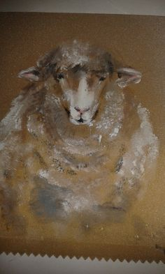 Sheep in oils
