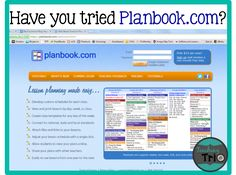 Teaching Trio: Technology Thursday: Planbook.com! Simplified lesson planning, sharing, attachments, & more!