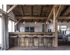 maison hand lyon - réalisation achalet à Mégève - photos Felix Forest