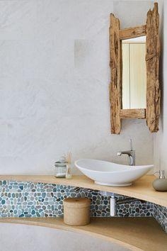 Rustic Bathroom Shelves, Modern Bathroom Tile, Rustic Bathroom Designs, Bathroom Storage Shelves, Bathroom Design Luxury, Wood Bathroom, Small Bathroom, Bathroom Layout, Bathroom Lighting