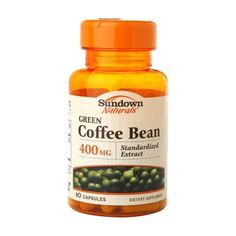 I'm learning all about Sundown Naturals Green Coffee Bean 400mg at @Influenster!