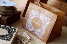 10pce  Waxed paper bags  Square bag type  brown color by karaku (Craft Supplies & Tools, Scrapbooking Supplies, Scrapbooking Paper, wrap, wrapping, gift, stamp, wax, bag, Brown color, Waxed paper bags, paper bags, Present, gift wrapping, wax paper, wax paper bags)