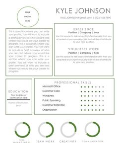 Easy to customize ! Kyle Johnson, Entry Level Resume, Resume Templates, Positivity, Writing, Easy, Cv Template, A Letter, Writing Process