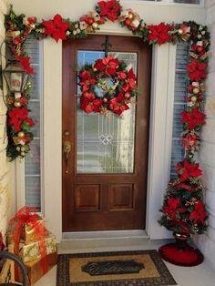 Ideas para decorar puertas en navidad08
