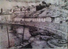 La coracha. Málaga antigua