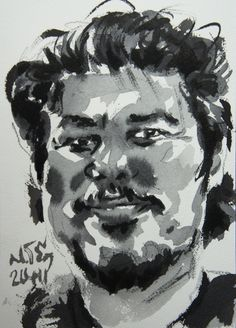 Prateep Kochabua Ink on paper 14.8x21cm