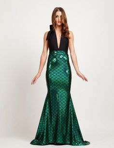 Back in stock in all sizes as of today OCTOBER 24th! MSRP: $139.00 GLAM: $ 42.00 (reduced to $39.00 until October 29th) SAVE: 70% Thinking about heading out as a mermaid for Halloween? How sexy and pe