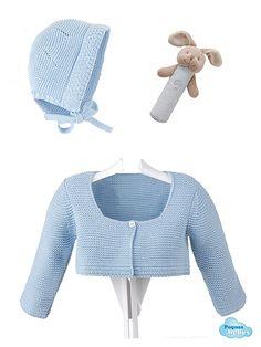 Chaqueta de lana y capota  de Navidad  MORDEDOR O SONAJERO DE REGALO!!