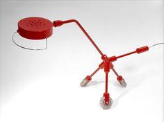 Kila Lamp - Ikea 2001- Harry Allen Ikea I, Ikea Desk, Roller Rink, Roller Skating, Contemporary Lamps, Vintage Furniture, Light Up, Design Art, Art History