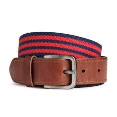 Cloth Belt - Red - $12.95 - H&M